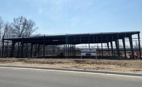 Nouveau bâtiment pour Hydrolico US