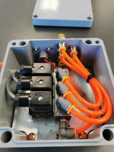 Système de contrôle pneumatique
