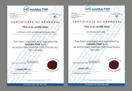Certification HANSA-TMP