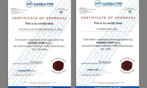 Authorized distributor for Hansa-TMP products
